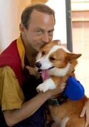 Houellebecq y su perro