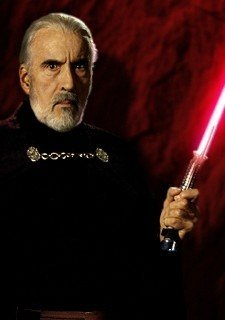 Christopher Lee - Dooku
