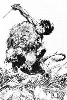 Tarzan por F.Frazzeta