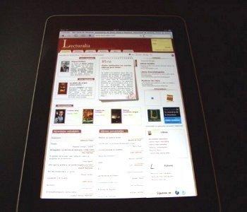 iPad Lecturalia