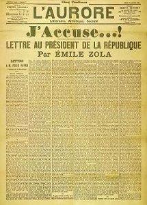 Zola, Yo Acuso