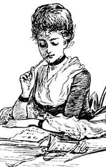 Mujer escritora y crítica