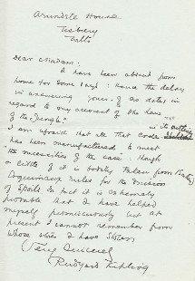 Kipling - Cartas