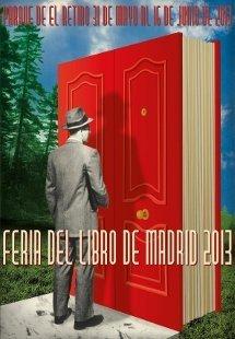 Cartel Feria del Libro de Madrid 2013