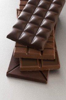 Libros y chocolate