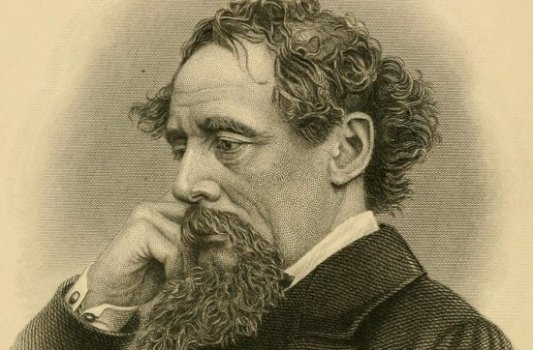 Retrato de Dickens en los últimos años de su vida