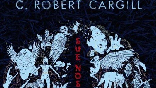 Portada de la novela de fantasía urbana Sueños y Sombras, de C. Robert Cargill