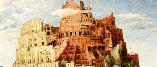 Detalle del cuadro La torre de Babel del pintor flamenco Pieter Bruegel El Viejo