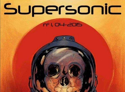 Portada del número uno de la revista SuperSonic