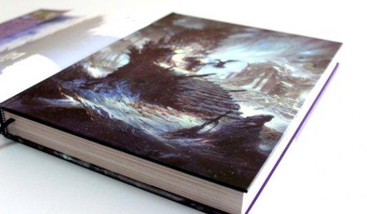 Libro El mundo de Hielo y Fuego con portada de Enrique Corominas