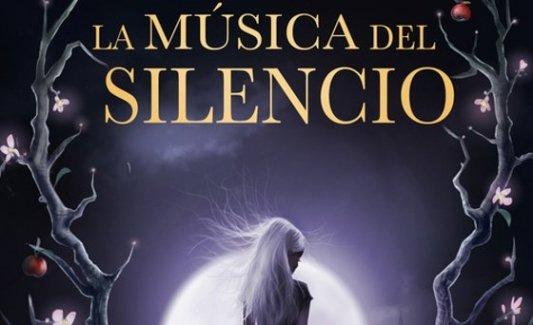 Detalle de la portada de La música del silencio, de Patrick Rothfuss