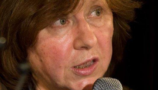 Svetlana Alexievich, escritora y periodista bielorrusa y candidata al Premio Nobel de Literatura