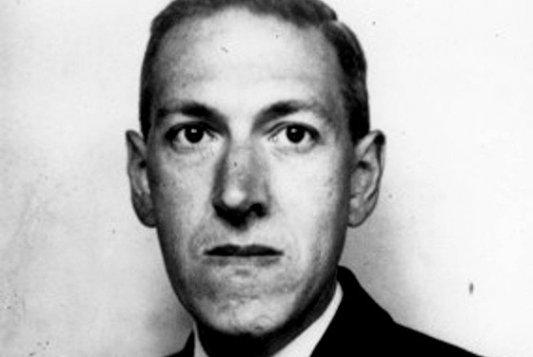Retrato fotográfico del autor americano de literatura fantástica y de terror H. P. Lovecraft.