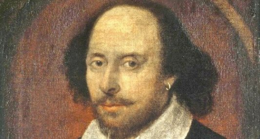 Supuesto retrato del autor inglés William Shakespeare.