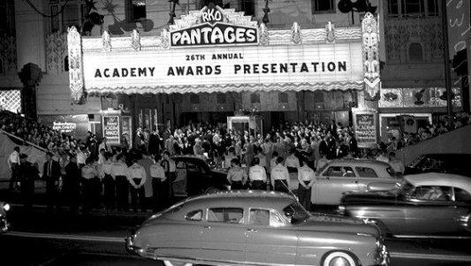 Imagen de archivo de la entrega de la 26 edición de los Premios Oscar.