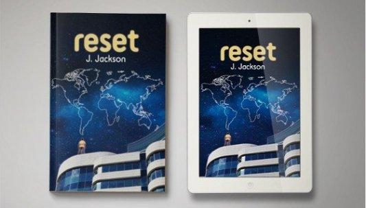 Portada en libro y en ebook del libro Reset, de J. Jackson.
