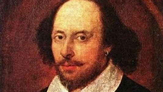 Retrato del dramaturgo inglés William Shakespeare.