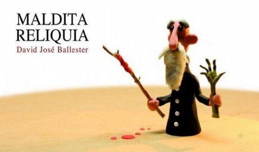 Portada del libro Maldita reliquia de David José Ballester