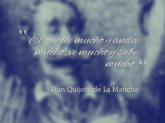 Una de las mejores frases del Quijote.