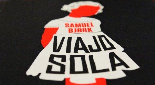 Portada de la novela Viajo sola, de Samuel Bjørk.