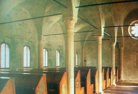 Vista de la biblioteca malatestiana