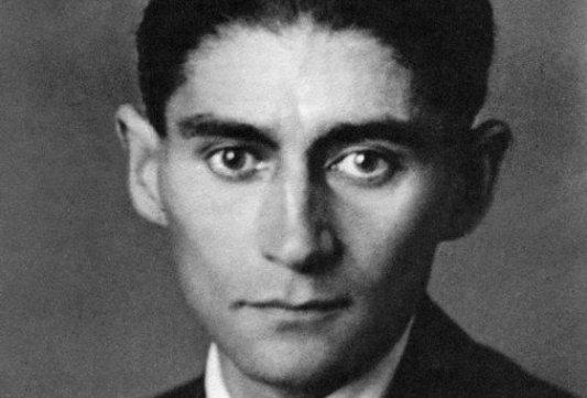 Retrato del escritor Franz Kafka.