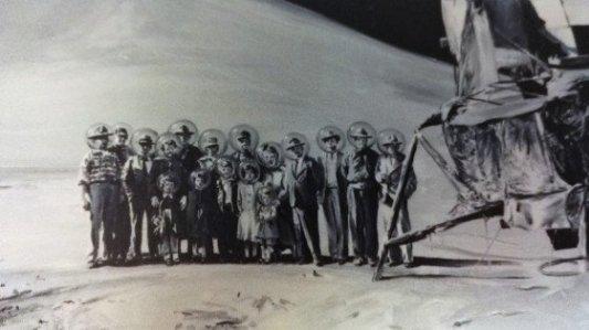 Detalle de la portada de Los últimos, de Juan Carlos Márquez.