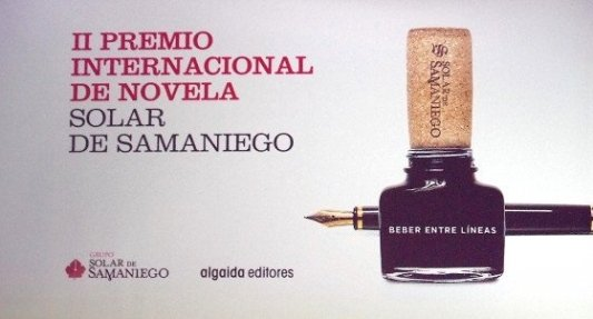 Cartel del Premio Solar de Samaniego.