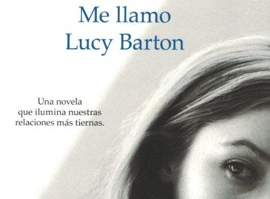 Detalle de la portada de Me llamo Lucy Barton.