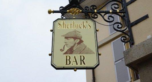 Bar inglés basado en Sherlock Holmes.