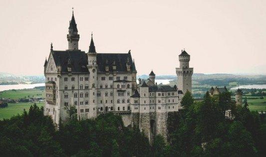 Castillo renacentista alemán.