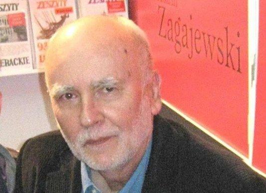 Retrato de Adam Zagajewski.