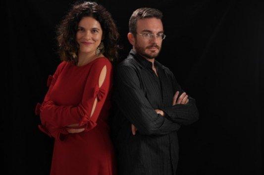 Retrato de los autores Ana Ballabriga y David Zaplana.