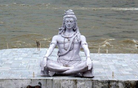 Estatua del dios Shiva.