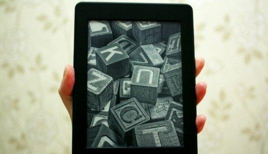 Lector de libros electrónicos.