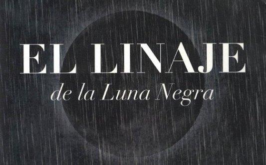 Detalle de la portada de El linaje de la Luna Negra