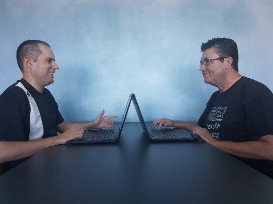 Rubén Azorín y Juan Vicente Azorín han trabajado juntos para alumbrar La Torre Tesla