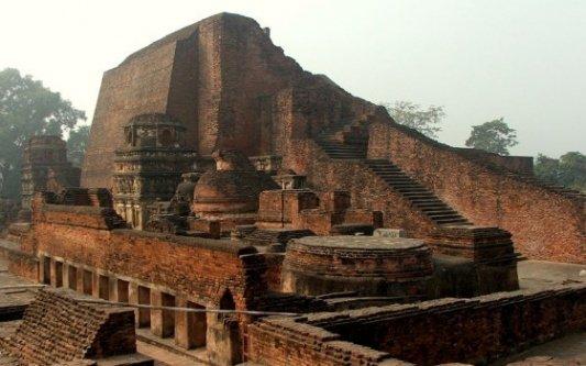 Ruinas de Nalanda.