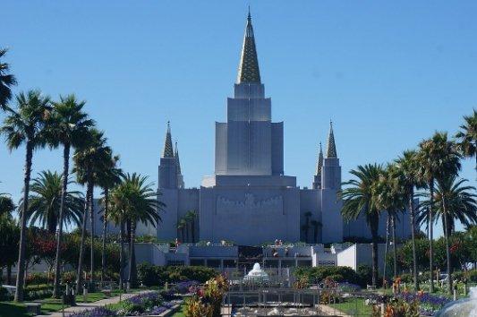 Templo de la Iglesia Mormona.