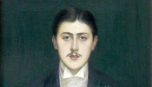 Retrato de Proust por Jacques Emile Blanche.