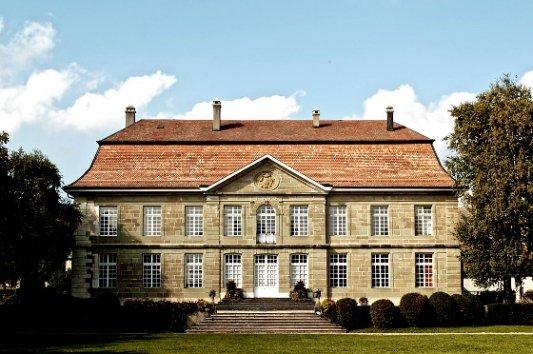 Típica mansión de la campiña inglesa.