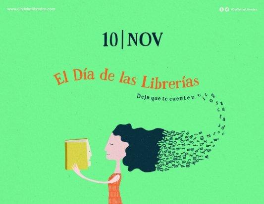 Cartel del Día de las librerías 2017.