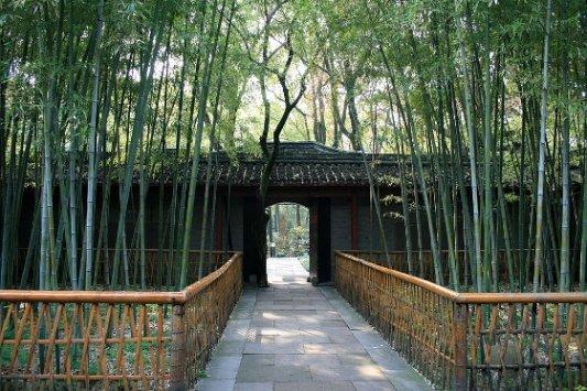 Entrada al complejo de Tianyi.