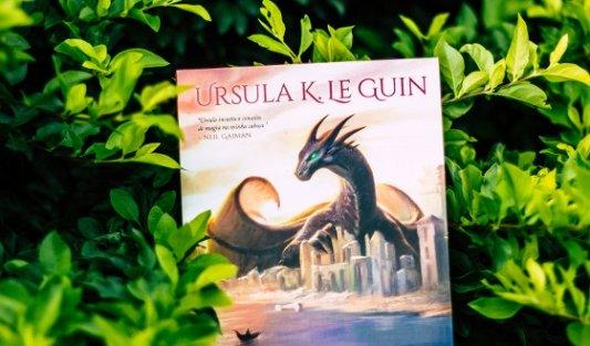 Detalle de un libro de Ursula K. Le Guin.
