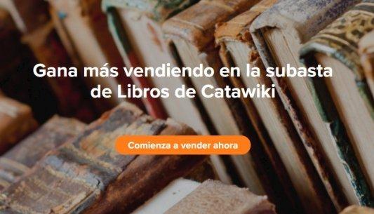 Comienza a vender libros para ganar dinero con Catawiki.