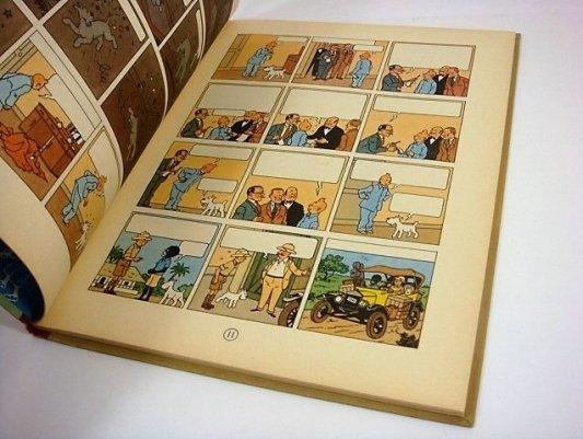 Versión adelantada de Tintín en el Congo