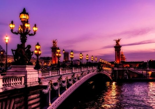 Puente sobre el Sena.