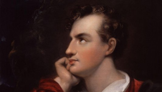 Retrato de Lord Byron.
