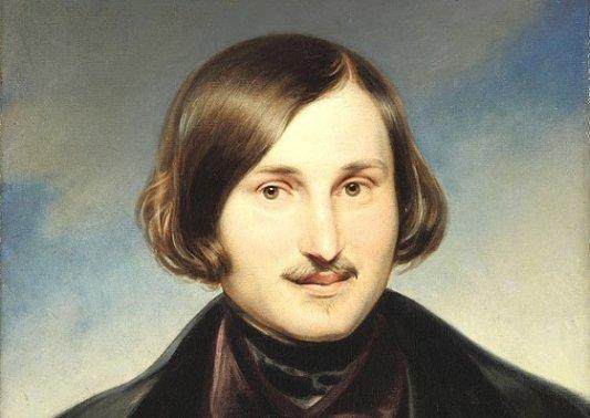 Retrato de Nikolái Gógol.