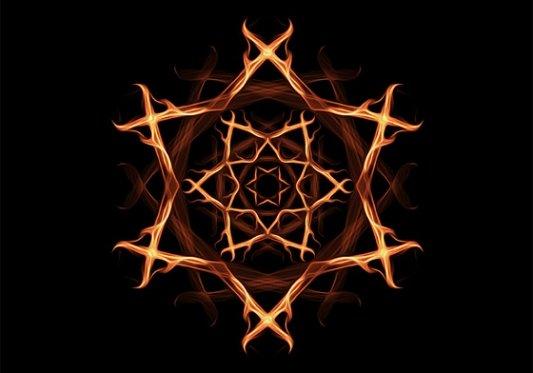 Pentáculo Wicca.